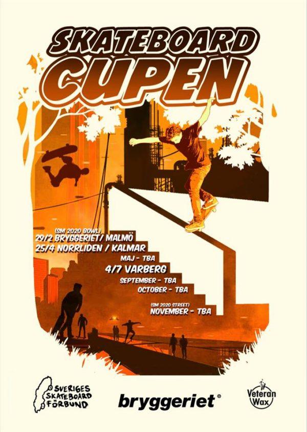 Skateboardcupen-poster
